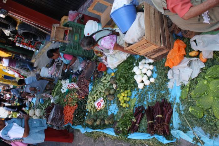 Markt in Mexiko